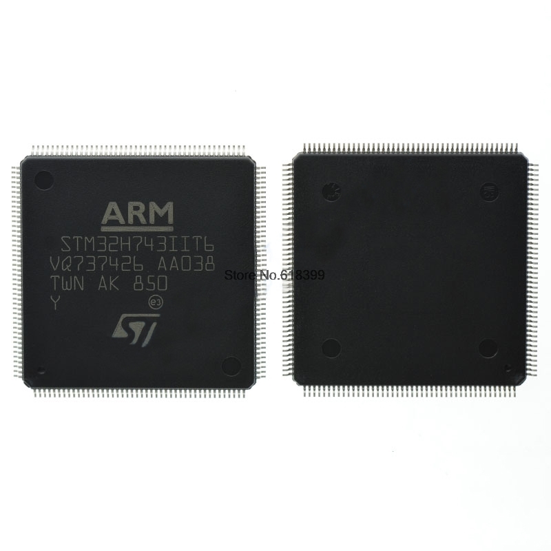 Stm32H7 Stm32H743Iit6 Chip Lqfp 176 Ic Microcontroller