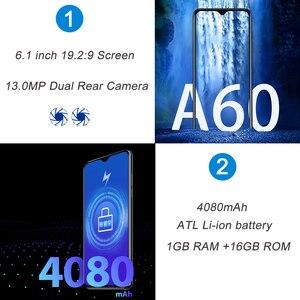 Image 3 - هاتف ذكي من Blackview أندرويد 8،1 مع كاميرتان وشاشة لمس, 4080 مللي أمبير، 1 جيجابايت ذاكرة داخلية، 16 جيجابايت، الجيل الثالث،6،1 بوصة