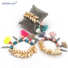 Новые браслеты дружбы ручной работы браслет с кисточками подвесками