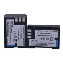 Tectra 2 шт. 1800 мАч PS-BLM1 BLM-1 BLM-01 PSBLM1 BLM1 Камера литий-ионный Батарея для Olympus E-300 E-330 E-500 E-510 C-5060 C-7070