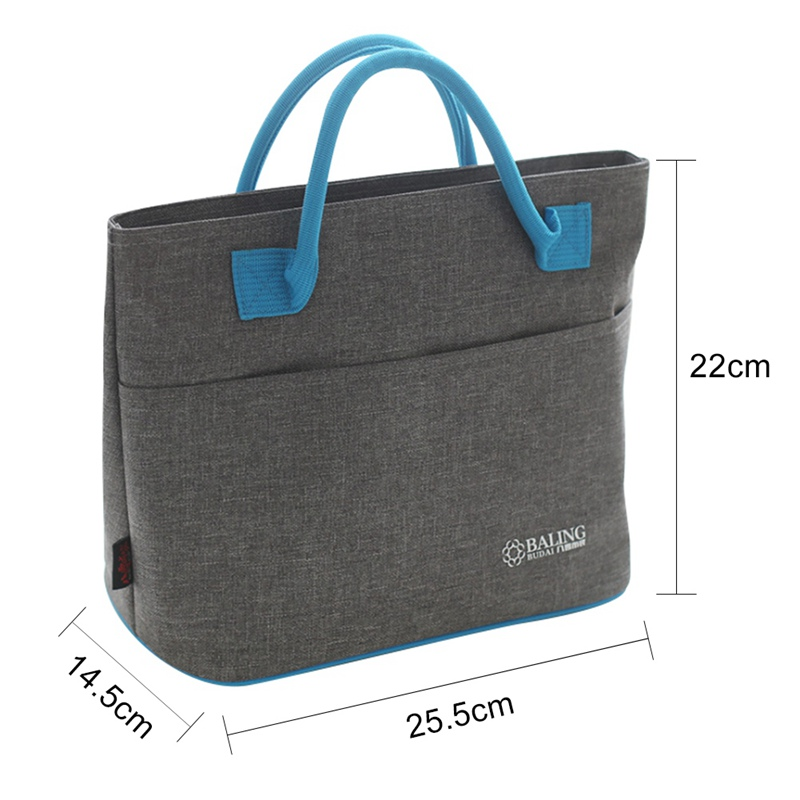 2018 Thermal Insulation Cooler Lunch Bag Picnic Bento Box Fresh Keeping Ice Pack Fruit Food Container Storage Accessories