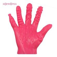 Sex Gloves Plam Masturbation Erotic Sex Toys For Couples Vagina Stimulator Breast Nipple Massage Sex Shop BDSM Toys Sex Products