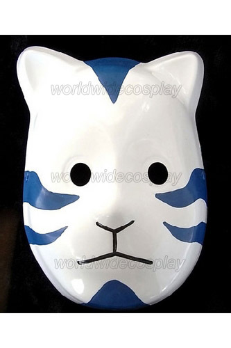 Naruto ANBU Blue Cosplay Mask Free Shipping for Halloween and Christmas