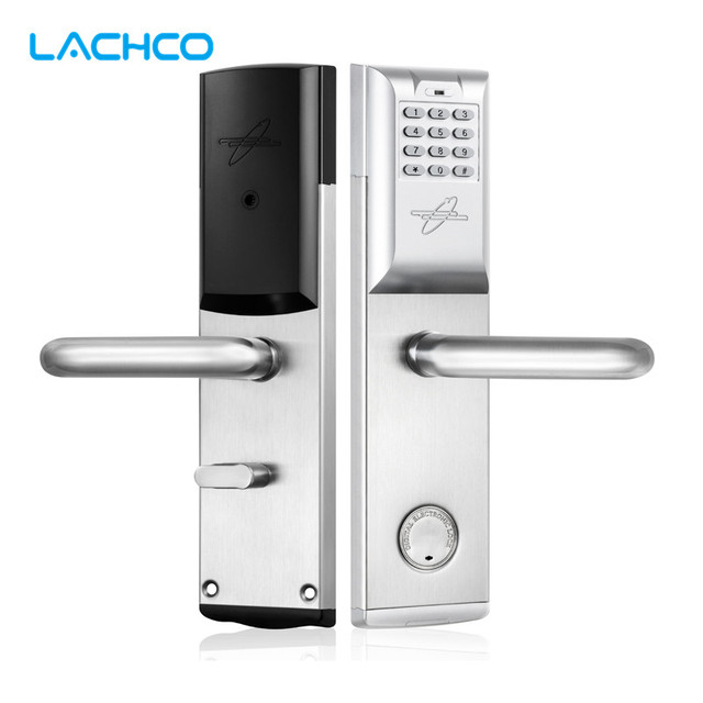 LACHCO Smart Password Door Lock Keypad RFID Card Intelligent Digital Lock Mechanical Key Keyless Smart Entry  sc 1 st  AliExpress.com & LACHCO Smart Password Door Lock Keypad RFID Card Intelligent Digital ...