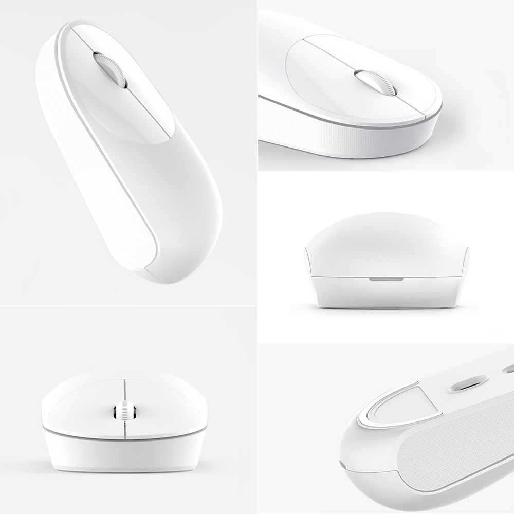 Original Xiaomi Mi Portable Mouse Remote Wireless Optical Bluetooth With Dual Mode Connection Connect Source 24ghz Mice For Windows 7 8 10 Mac Os