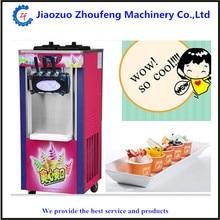 High Quality 3 flavor commercial soft ice cream machine / icecream maker machine  ZF