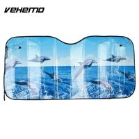 40x60cm Durable Car SunShade   Auto   Parts Front Windshield Windshield Sunshade Portable Vehicle   Auto   Sun Visor