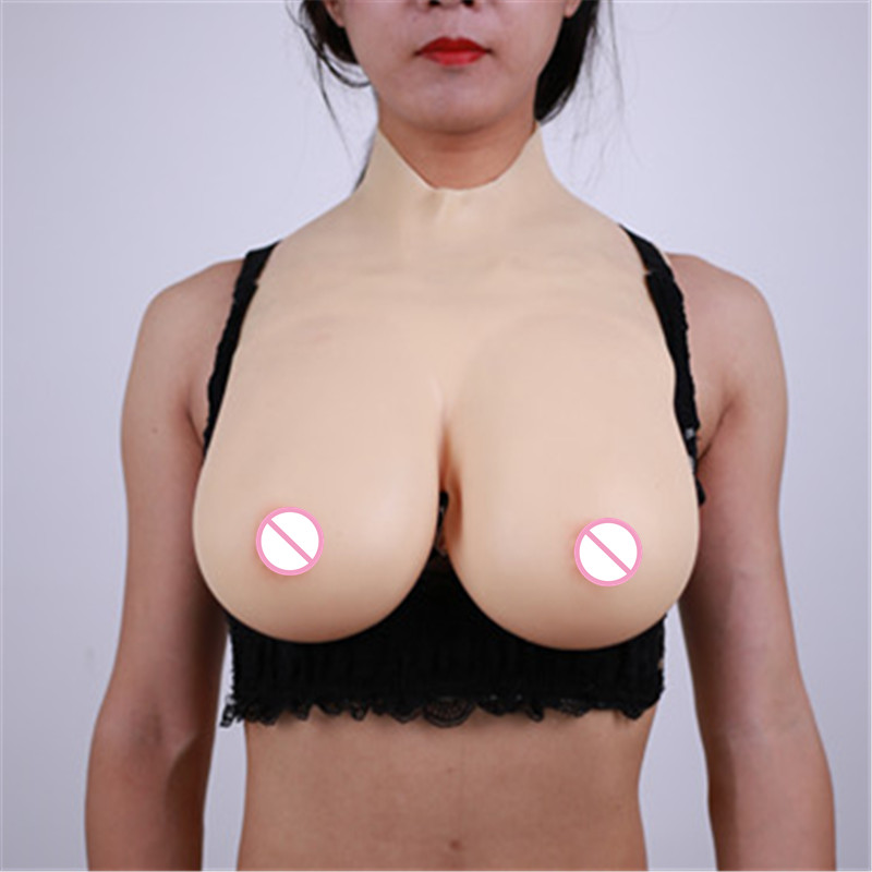 D Cup Liquid Silicone Filler Fake Boobs Silicone Breast Forms Realistic Artificial Boobs For Shemale Transgender Crossdresser 600g pair b cup artificial nipple breast forms silicone boobs fake for shemale crossdresser transgender chest enlarge lifelike