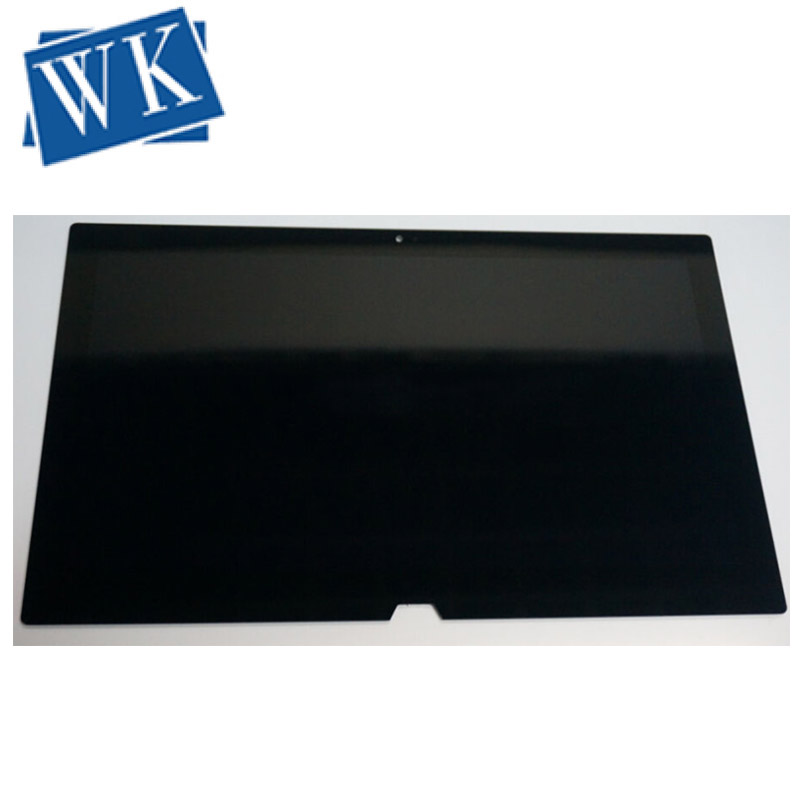 Free Shipping Original  For Sony DUO13 SVD132 LCD Touch Screen Assembly VVX13F009G10G00 Black Or White