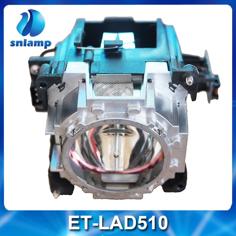 100% Original compatible replacement Projector Lamp ET-LAD510 Bulb with housing for Panasonic PT-DS20K PT-DW17K PT-DZ21K free shipping projector lamp projector bulb with housing et laa410 fit for pt ae8000 pt ae8000u