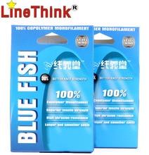120M LineThink Blue Fish High Quality Copolymer Nylon Monofilament Fishing Line Free Shipping