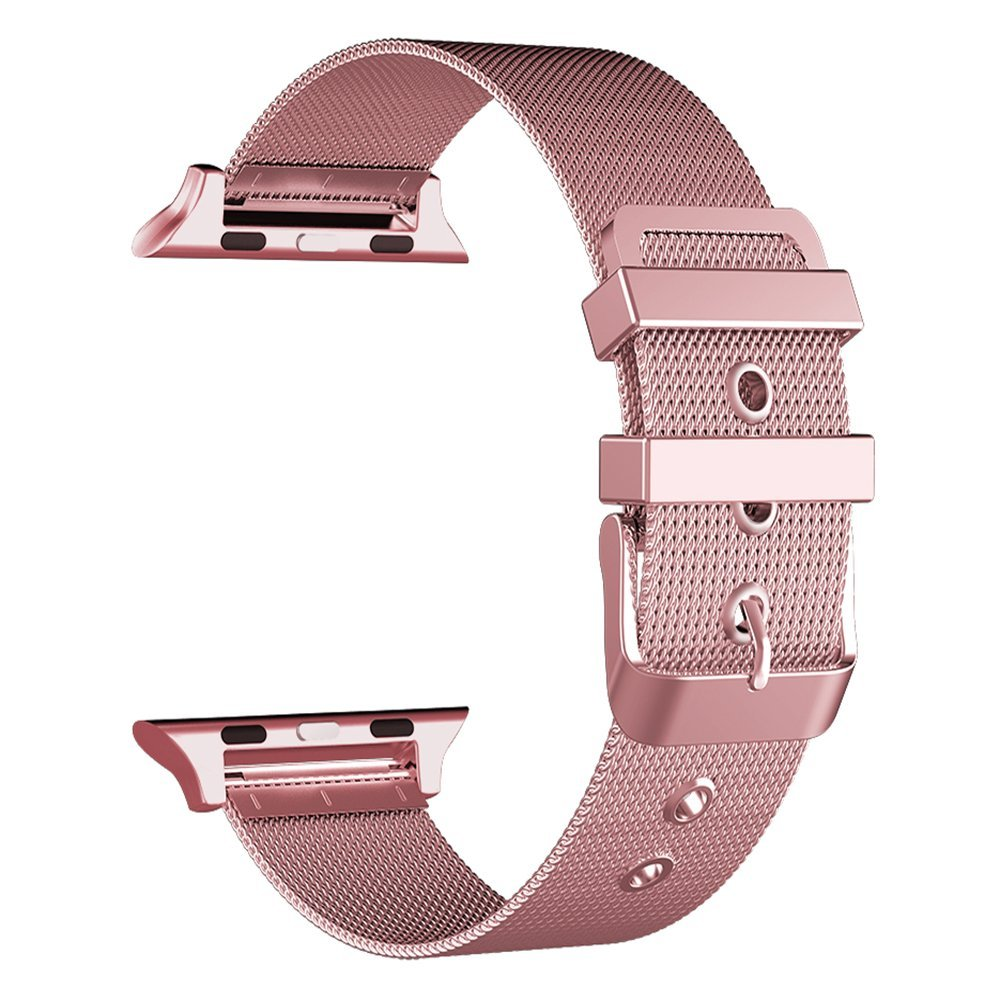 For Apple Watch 42mm/38mm Mesh Stainless Steel Strap Bracelet for iWatch Series 1 Series 2 Series 3 42mm 38mm for apple watch s3 series 3