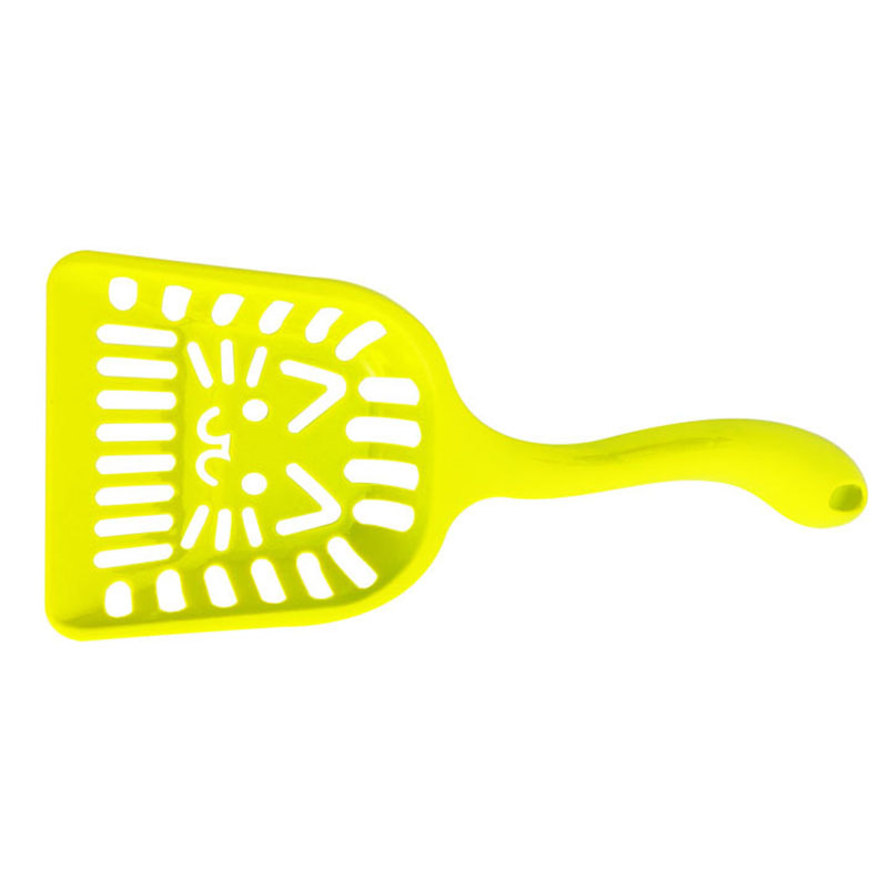 Puppy Dog Kitten Cat Plastic Cleaning Tool Scoop Poop Shovel Waste Tray For Pet Products Supplies Random Color