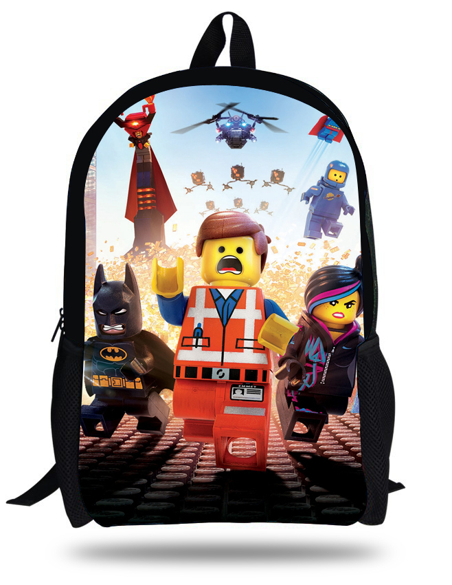 Aliexpress.com : Buy 16 Inch Lego Mochilas Little Boy School bag ...