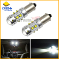 2pcs High Power 50W Extreme Bright 10-CRE E XB-D BA9S 641 BA9 LED Bulbs for Interior Map Dome Light Backup Parking Lights,etc