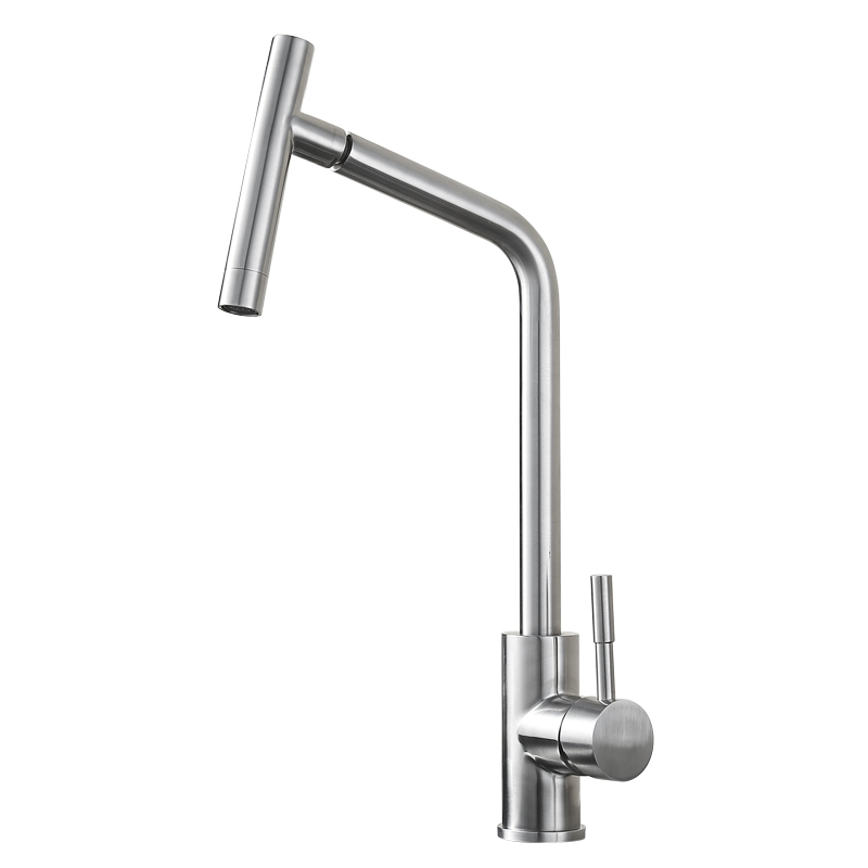 Sus304 Stainless Steel Kitchen Faucets Brushed Mixer Water: BLH 514 Healthy Kitchen Faucet Brushed Nickel SUS 304