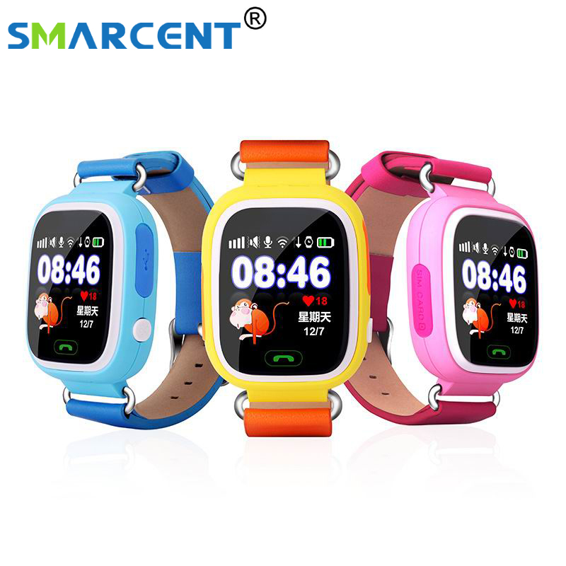 Q90 GPS Smart baby smart watch Q90 phone kids GPS Wifi Smart Watch SOS GPS Location Device Tracker Kid Safe Monitor children smart baby watch каркам q60 голубые