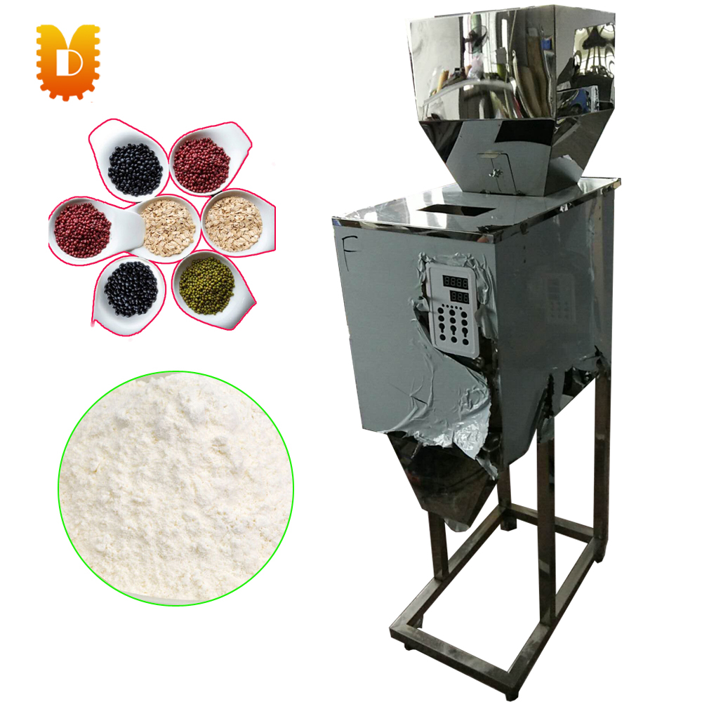 FZ-5000 5kg rice racking machine/powder flour racking machine/popcorn packing machine cursor positioning fully automatic weighing racking packing machine granular powder medicinal filling machine accurate 2 50g