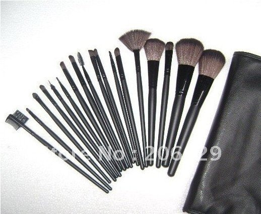 10 sets New make-up brush 24 pieces brush set,professional makeup brush,cosmetics Best selling~ Free shipping