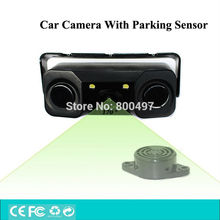 Newest Design 3 in 1 Car Visual Rear View Intelligent Camera With Backup Parking Sensor Radar System For Parking Assistance