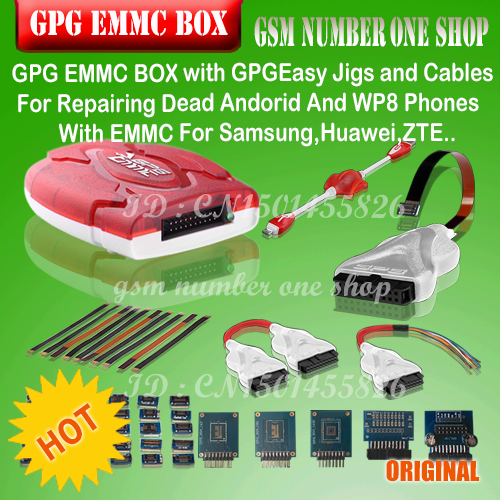 US $206 8 |100%original new GPG EMMC BOX For Repairing Dead Andorid And WP8  Phones With EMMC For Samsung,Huawei,ZTE   + Fast Shipping-in Telecom Parts