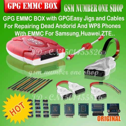 100%original new GPG EMMC BOX For Repairing Dead Andorid And