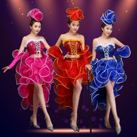 Modern dance costume sequins jazz dance costumes opening dance performance clothing adult clothing Dresses