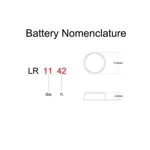 Image 3 - 알카라인 배터리 시계 코인 셀 버튼 셀 AG12 1.5V LR1142 L1142 LR43 SR43 SG12 SR1142 CX186 186 386 386A D386 1133SO 1132SO