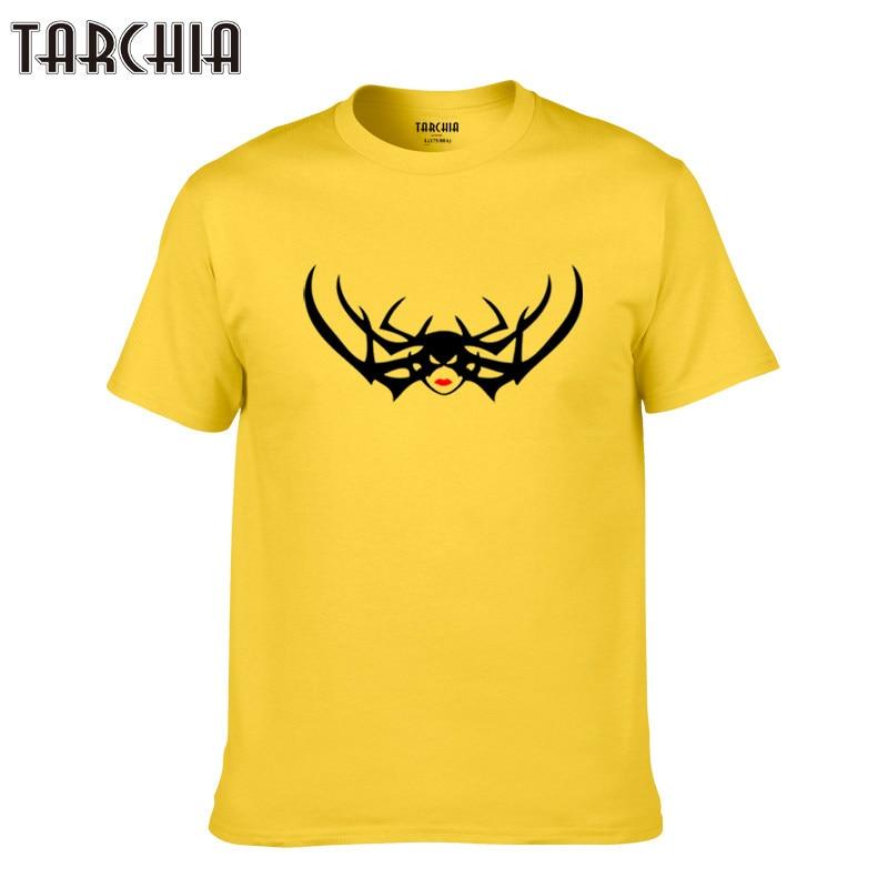 TARCHIA 2018 cotton casual homme print tshirt t plus tops fitness new tees summer men brand short sleeve boy fashion t-shirt