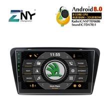 4GB RAM 10.1″ Android 8.0 Car Stereo For Skoda Octavia A7 2013 2014 2015 2016 Auto Radio GPS Navigation Audio Video WiFi No DVD