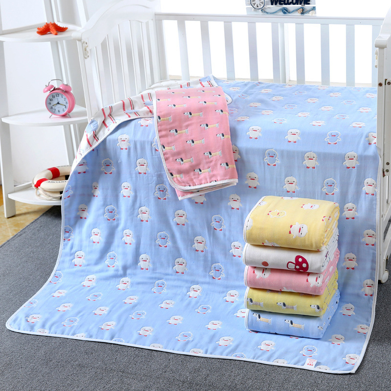 Muslin Cotton Baby Swaddle Blanket 6 Layers Gauze Newborn Wrap Gauze Children Blankets Infant Soft Baby Bath Towel 110*110cm baby blanket bedding 110cm newborn muslin cotton swaddle wrap kids 6 layers thick receiving blanket gauze bath towel baby boys