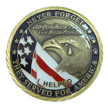 Discount and promotion coins with antique bronze finish