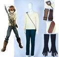 Free Shipping Akame ga Kill! Night Raid Tatsumi Cosplay Costume gift gloves and scabbard
