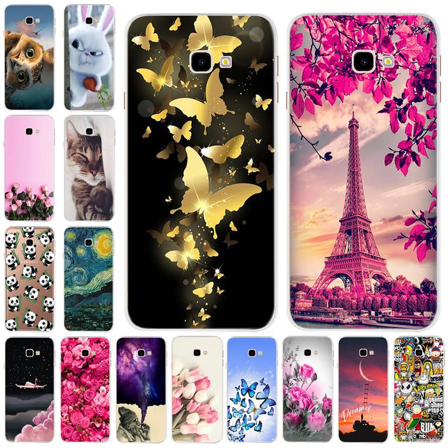 Cool Soft TPU Case For Samsung Galaxy j4 PLus J415 2018 Case Silicone Cartoon Cute Case For Samsung J4plus SM-J415F J415FN Bag