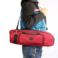 Homeland Trumpet Bag Case Thicken Padded Foam Twill Surface Non-woven Inner Cloth with Adjustable Shoulder Strap Pocket