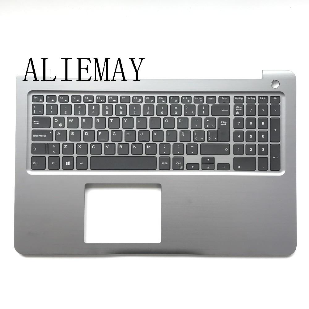 Brand New Original Laptop  LA /SP LATIN  Keyboard For DELL INSPIRON 15-5000 5565 5567 Palmrest Keyboard