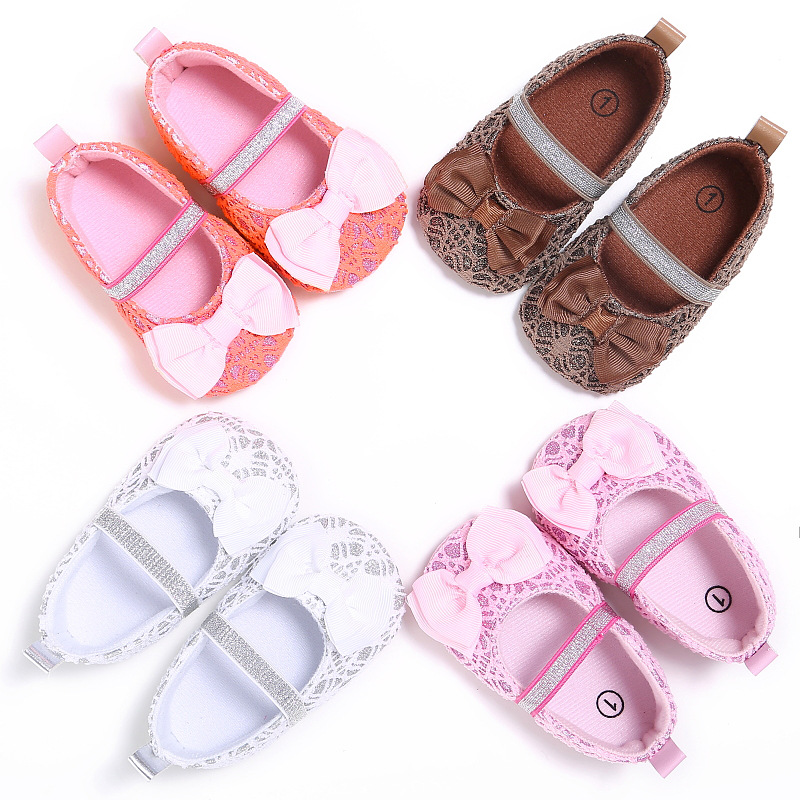 Lace Female Baby Totem Cotton Bow Children's Shoes