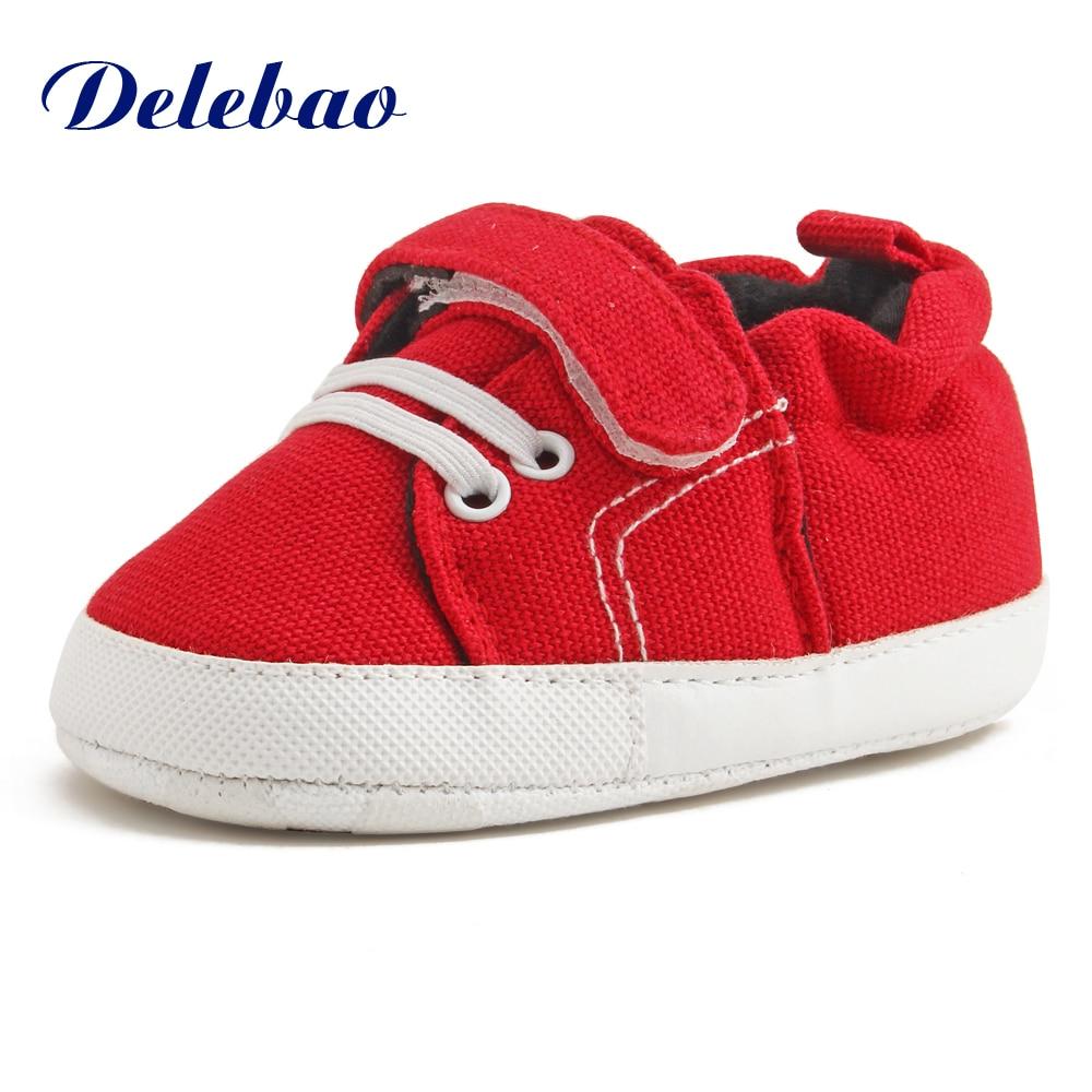 Delebao 2017 ontwerp lente / herfst baby schoenen unieke PU antislip - Baby schoentjes - Foto 3