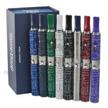 5ชิ้น/ล็อตSnoop Doggชุดเลขหมายสมุนไพรvaporizerสีสันขี้ผึ้งสมุนไพรแห้งสีฟ้าไอฉีดน้ำeบุหรี่อิเล็กทรอนิกส์ชุดvape
