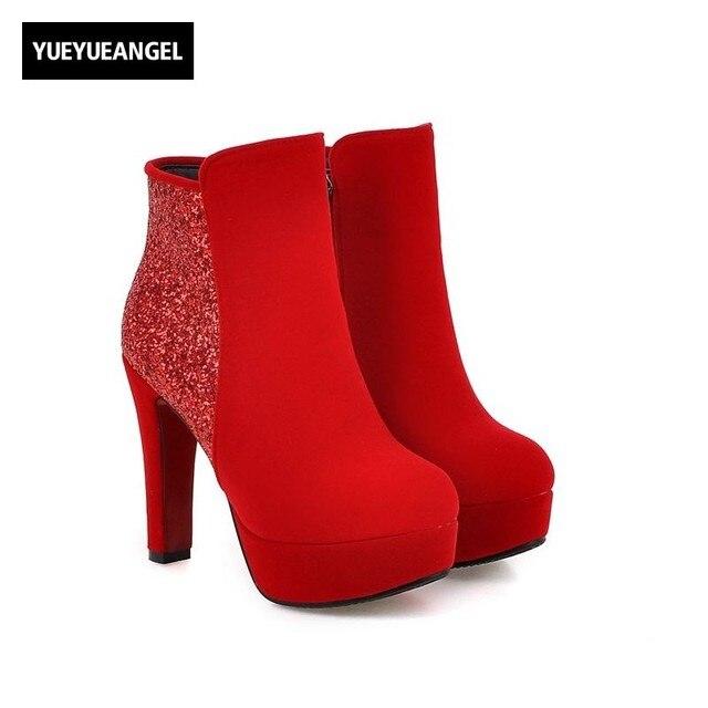 Zapatos rojos Polar para mujer fReohZtec