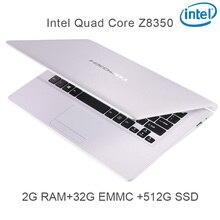 "P5-05 white 2G RAM 32G EMMC 512G Intel Atom Z8350 11.6 Windows10 HDMI WIFI System Laptop bluetooth computer notebook USB3.0"""