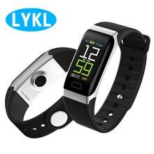 Смарт-часы R7 зарядка через usb крови Smartband Давление монитор Фитнес браслет трекер Smart напульсник Smartband браслет