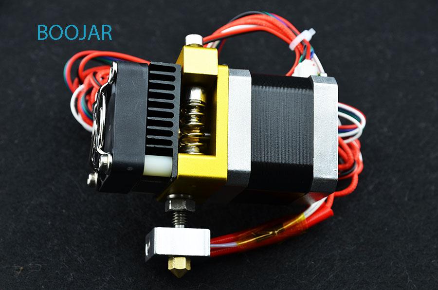 Prix pour MK8 extrudeuse kit Makerbot 3D imprimante pièces full metal Prusa i3 tête d'extrusion extrudeuse vente Chaude livraison gratuite
