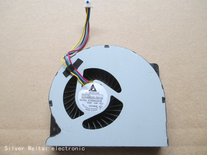 Laptop CPU Cooling fan for DELTA KDB0605HB G310 KDB0605HB-G310 5V 0.36A CA49600 0610 CA49600-0610 ноутбук dell inspiron 3558 5216 core i3 5005u 2 0ghz 15 6 4gb 500gb dvd hd graphics 5500 linux black