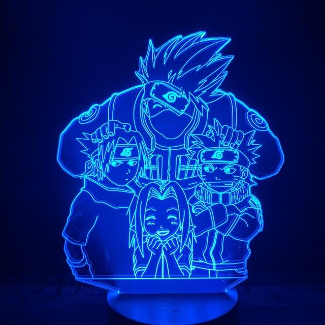 3D NARUTO & FRIEND LED LAMP
