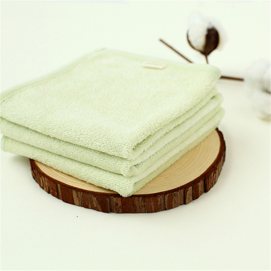 Cute Baby Towel Cotton Gauze Newborn Washcloth Solid High Quality White Wipes Care For Newborns Towels For Babies 70A0120