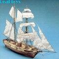 1/55 La hossand 1848 clássico barco à vela de madeira kit
