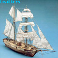 1/55 La hossand 1848 classic wooden sailing boat kit model