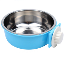 Hanging Dog Water Food Bowl Puppy Slow Food Bowls Container Dog Feeder Water Bottle Dishes Prato Cachorro Pet Products 50Z0755