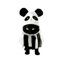 Cute Pet Bathrobe for Mice, Cats, Small and Medium Dog Microfiber Super Absorbent Cat Bath Cloak Drying Towel-Panda Frog